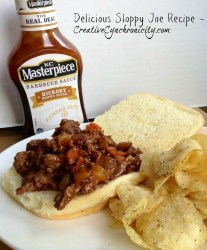 Delicious Sloppy Joe Sandwiches