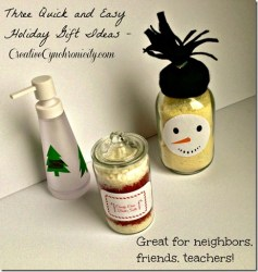 Three Quick and Easy DIY Holiday Gifts + GIVEAWAY #holidaygifthoa