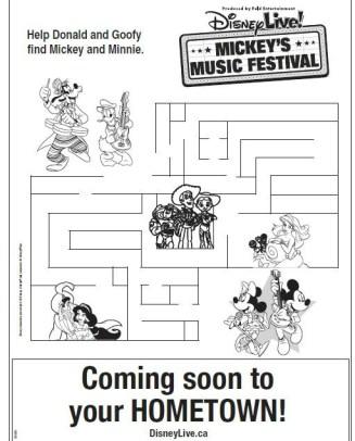Disney-Live-Maze