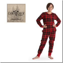 Get Cozy in a Camp & Cabin Onesie for Adults