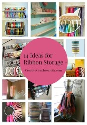 14 Ways to Organize Ribbon