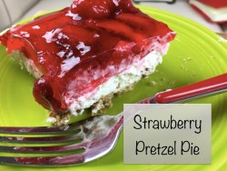 Strawberry Pretzel Pie {12 Days of BBQ and Picnic Ideas}