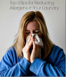 Top 6 Tips for Reducing Allergens in your Laundry