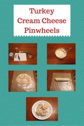 Turkey Cream Cheese Pinwheels {#12DaysOf School Lunches}