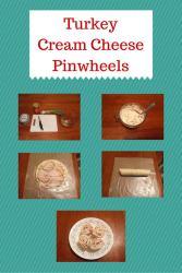 Turkey Cream Cheese Pinwheels {#12DaysOf School Lunches}