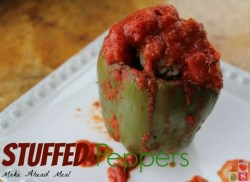 Slow Cooker Stuffed Peppers {12 Days of Slow Cooker Recipes}