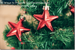 10 Ways to Prepare for Christmas