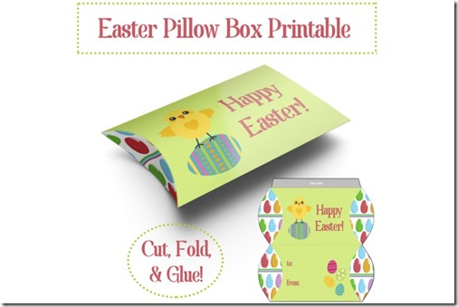 Free-Easter-Pillow-Box-Printable