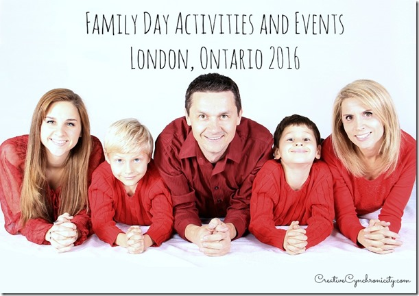 family day activities events london ontario 2016