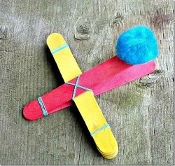 DIY Craft Stick Catapult