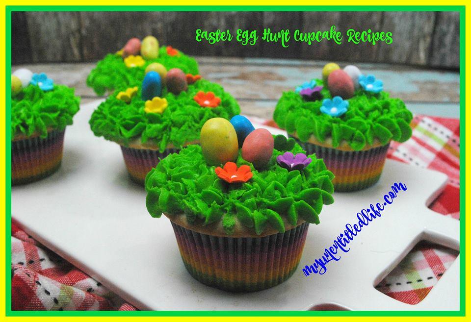 easter egg hunt cupcake recipe