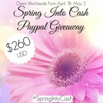 Spring into Cash $260 USD Paypal Giveaway