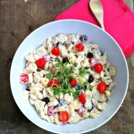Easy Creamy Tortellini Salad Recipe