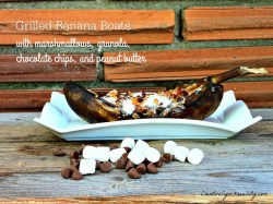 Grilled Banana Boats Recipe