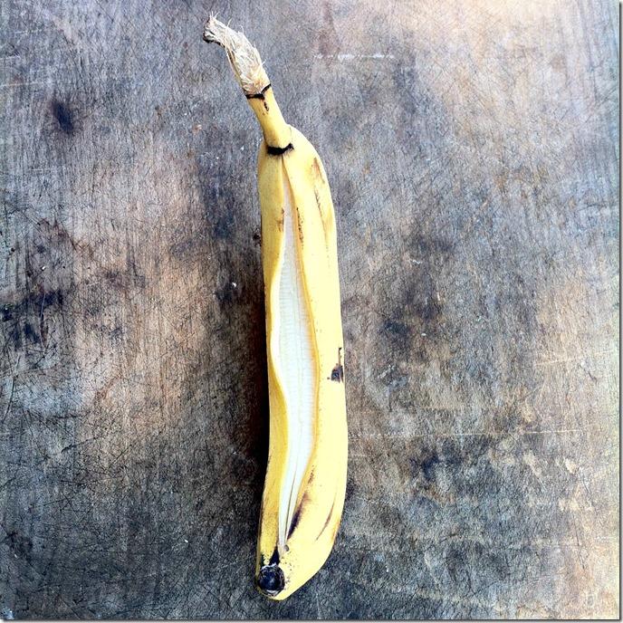 making banana boats