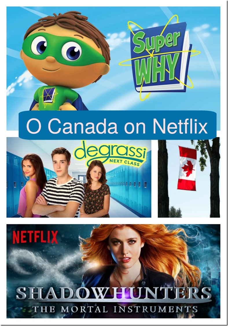 O Canada  Canadian Content on Netflix