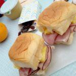 Ham and Pineapple Sliders