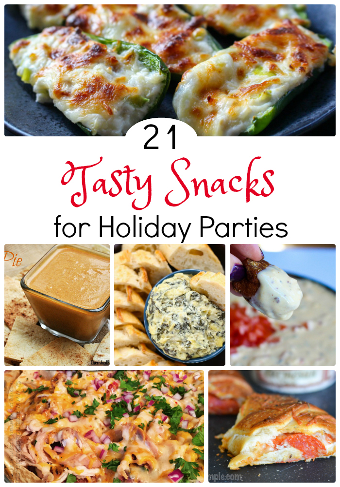 21 tasty snacks for holiday parties