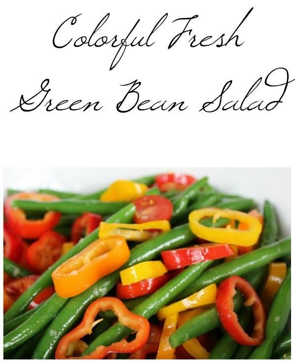 colorful-fresh-green-bean-salad