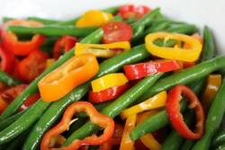 Colorful and Fresh Green Bean Salad