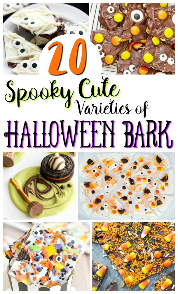 20 Halloween Bark Candy Recipes