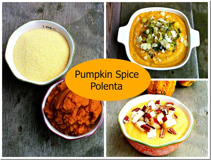 pumpkin spice polenta recipes