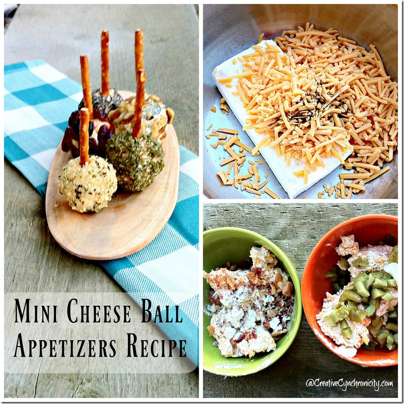 Mini Cheese Ball Appetizers Recipe with Variations
