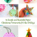 Simple and Beautiful Paper Christmas Ornaments