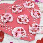 Valentine's Day Dipped Pretzels