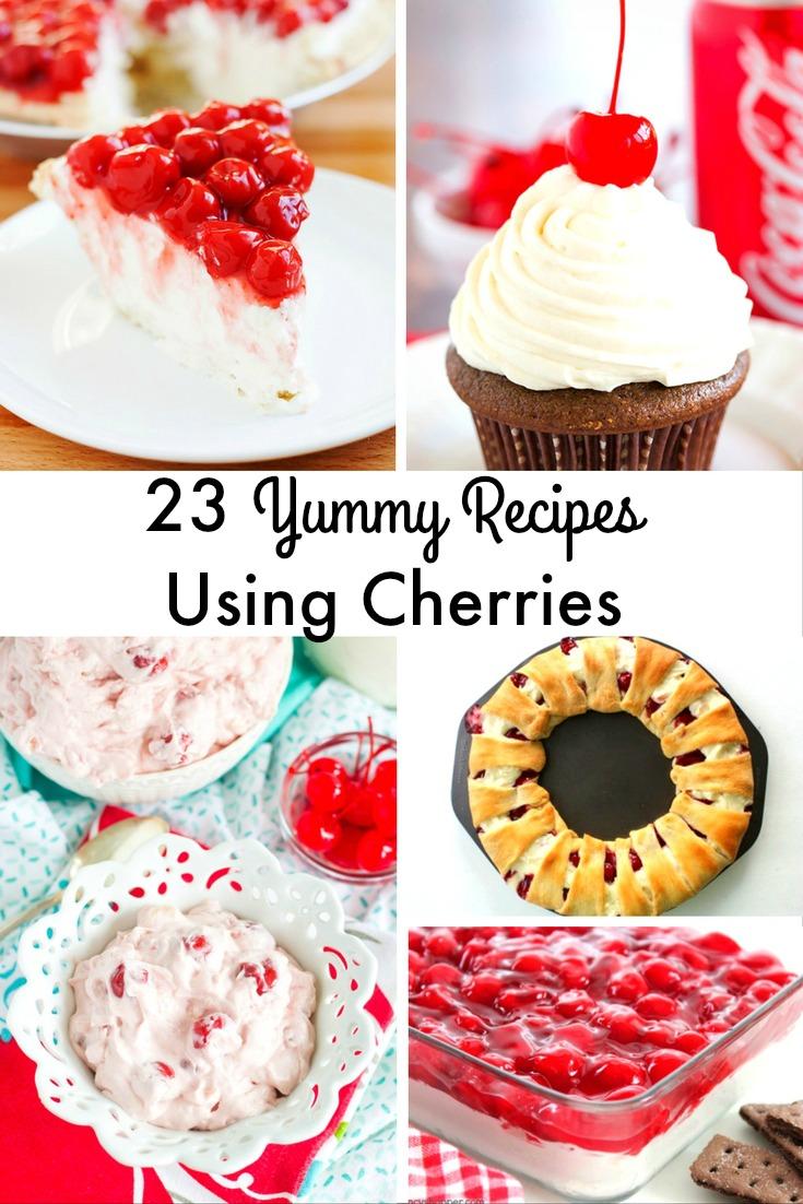 23 yummy recipes using cherries