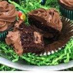 Cadbury Filled Chocolate Cupcakes