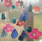 Melted Crayon Suncatcher