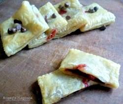 Chocolate Strawberry Hand Pie Recipe