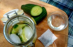 Sweet Cucumber Green Tea Recipe