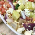 Tomato Onion Feta Salad Recipe
