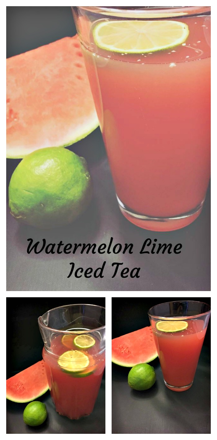 watermelon lime iced tea recipe