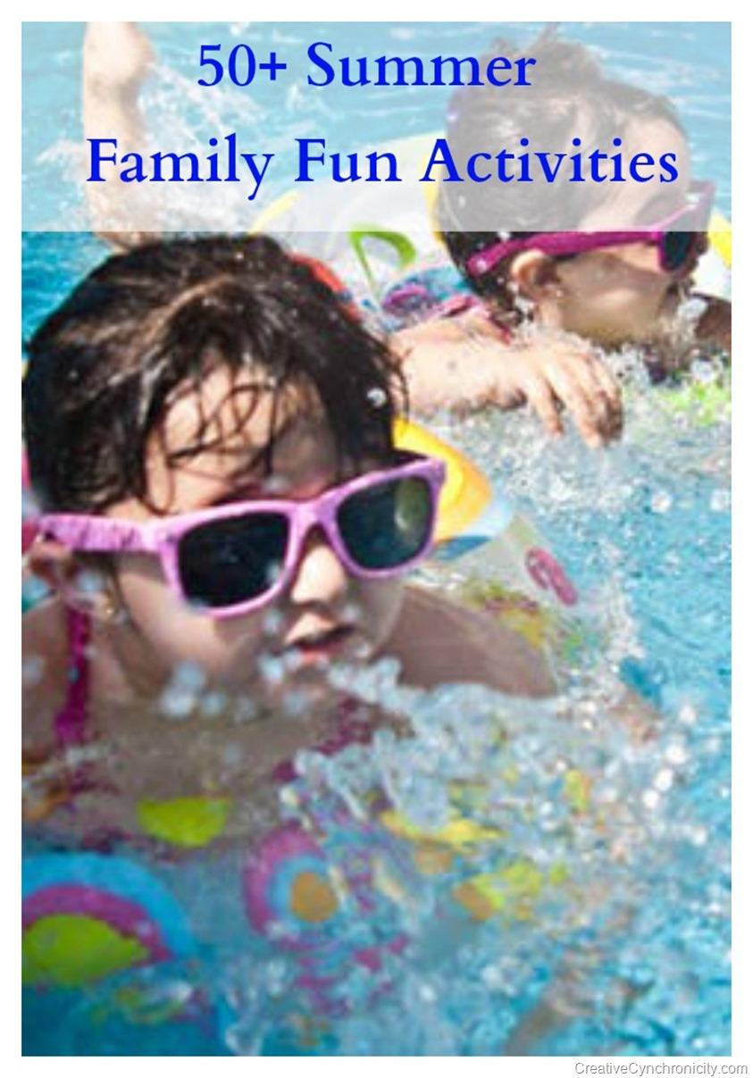 50 Summer Family Fun Activities