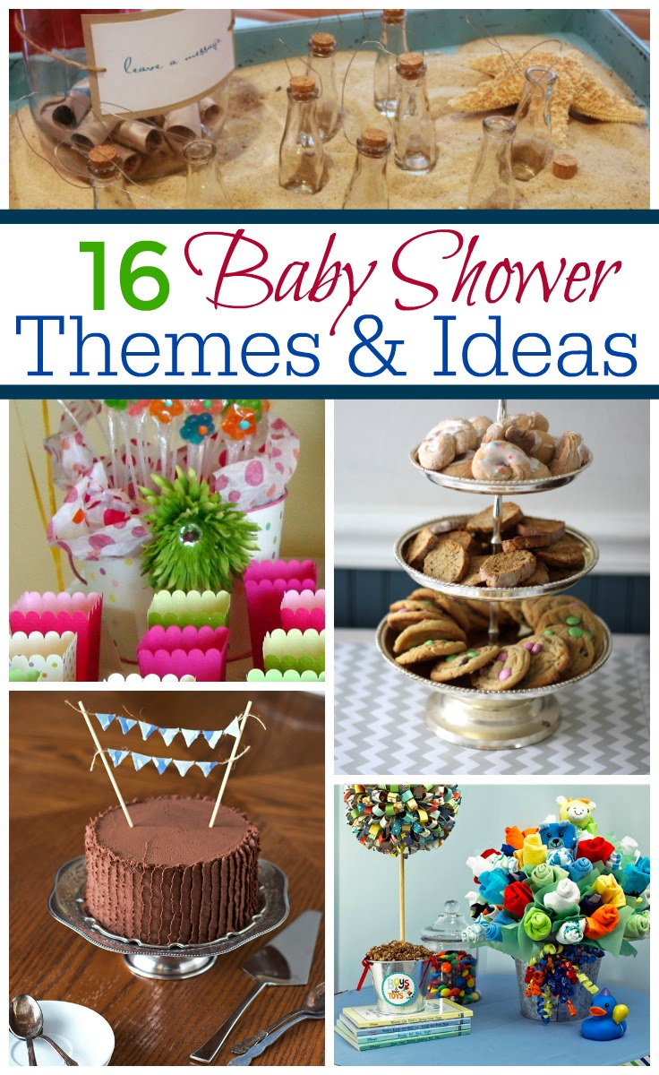 Baby shower themes and ideas