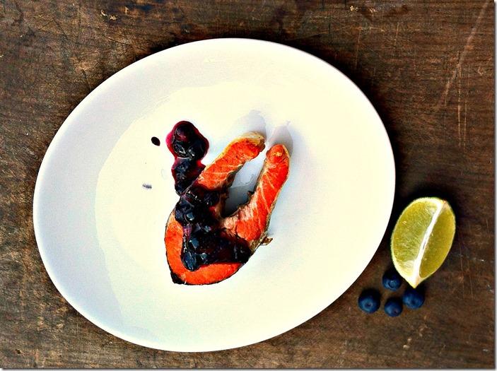 Grilled-Cedar-Planked-Sockeye-Salmon-with-Maple-Blueberry-Chutney