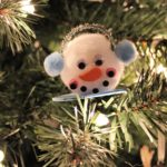 DIY Dollar Store Snowman Ornament