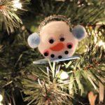 DIY Dollar Store Snowman Ornament