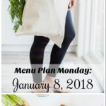 Menu Plan Monday: Week of January 15, 2018