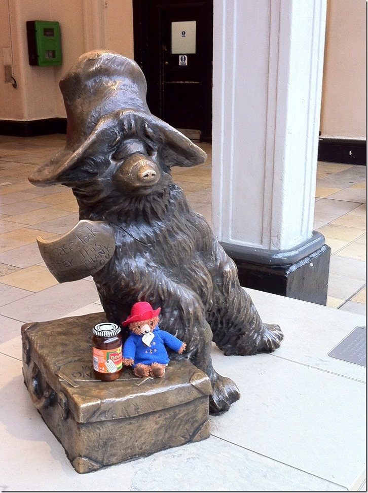 Paddington Bear in Paddington Station