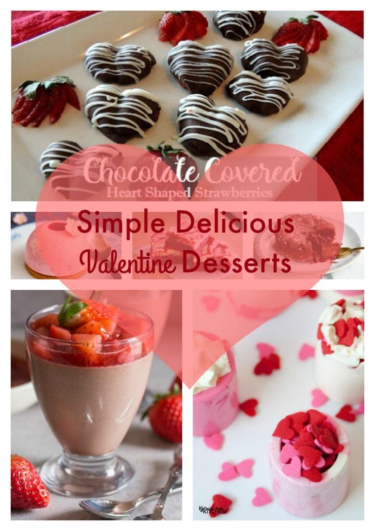 simple delicious valentine desserts