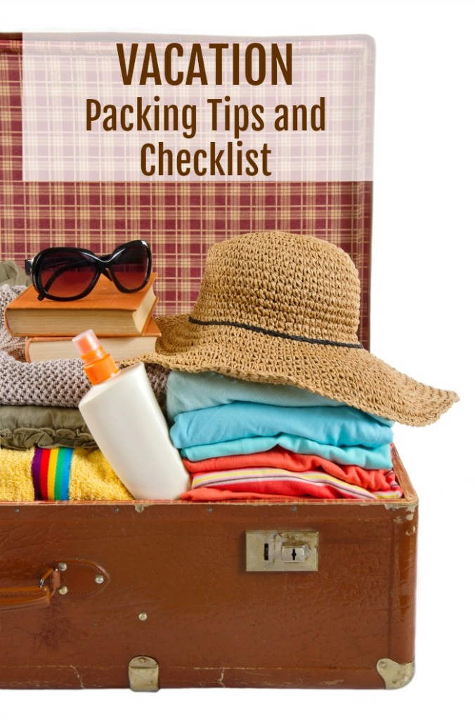 vacation packing tips and checklist creative cynchronicity