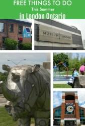 Free Summer Activities in London Ontario