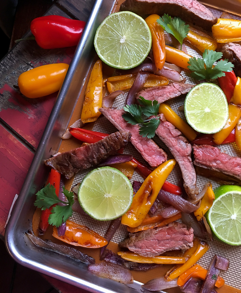 Sheet Pan Fajitas Recipe