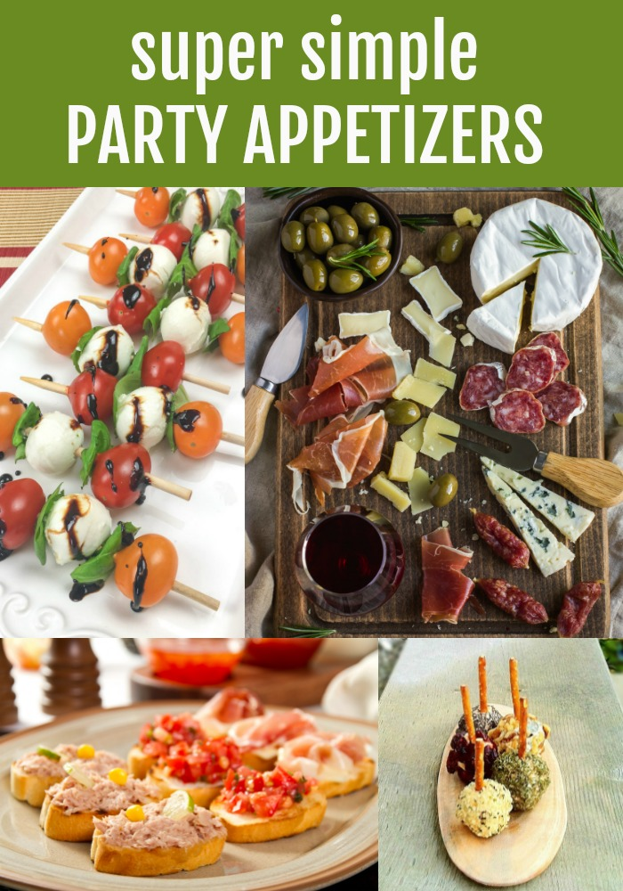 super simple party appetizers