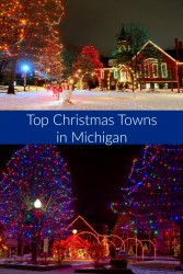 top christmas towns in michigan