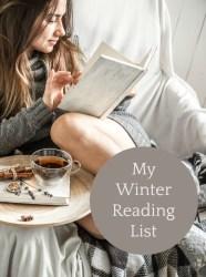 My Winter Reading List – UPDATE